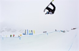 World Rookie Friday Halfpipe Joonsik Lee Photo by Gustav Ohlsson
